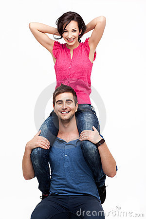Happy Couple Royalty Free Stock Photos - Image: 20287258