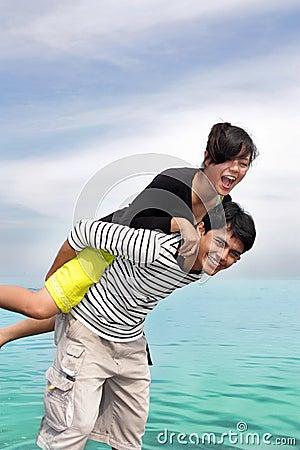 Free Happy Couple Stock Photography - 9501822