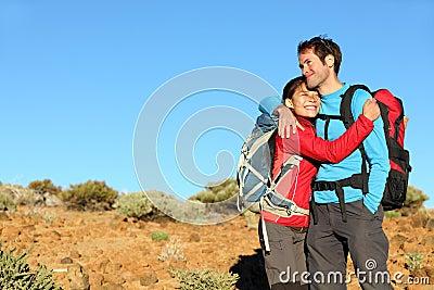 Happy couple healthy lifestyle