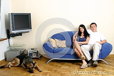 Happy Couple - Relaxing