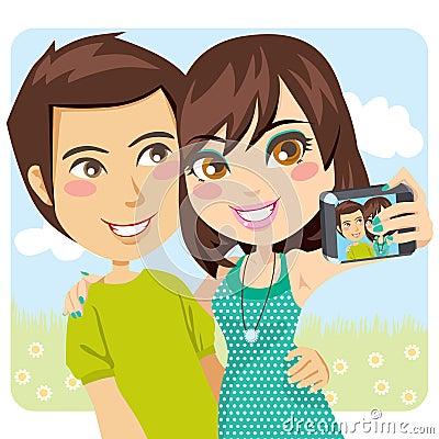 Happy Couple Snapshot