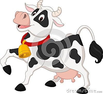 Free Happy Cow Cartoon Stock Photo - 87483060