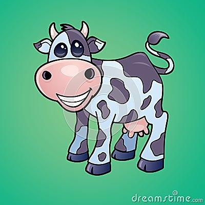 Happy Dairy Cow