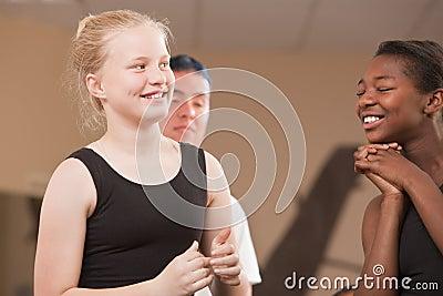 Happy Dance Students