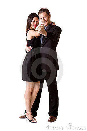Free Happy Dancing Pair Royalty Free Stock Images - 6583499