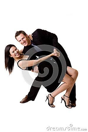 Free Happy Dancing Pair Royalty Free Stock Images - 6583509