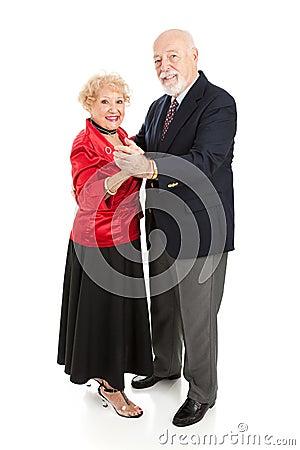 Happy Dancing Seniors