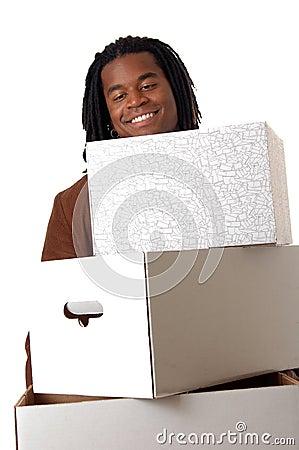 Happy Deliveryman
