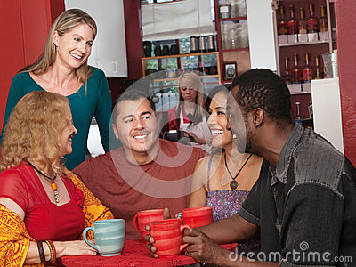 Happy Diverse Group of Adults