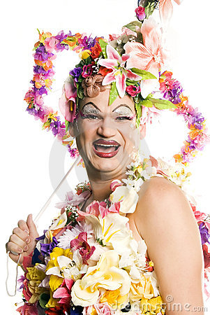 Free Happy Drag Queen Royalty Free Stock Photo - 6712195