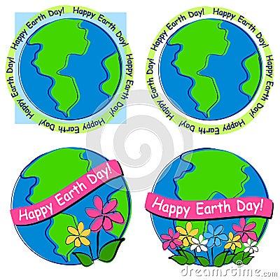 Happy Earth Day Clip Art