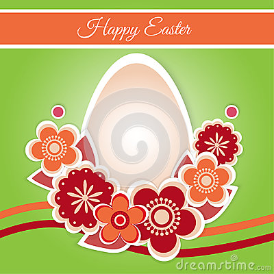 Happy Easter Card - Vector