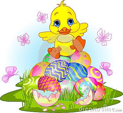 Happy Easter duckling