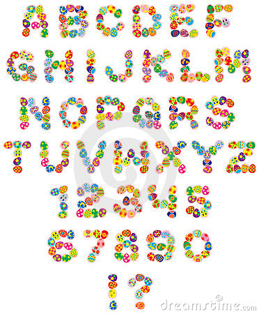 Free Happy Easter Font Stock Photography - 3947642