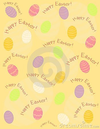 Happy Easter Greeting Eggs Background 2
