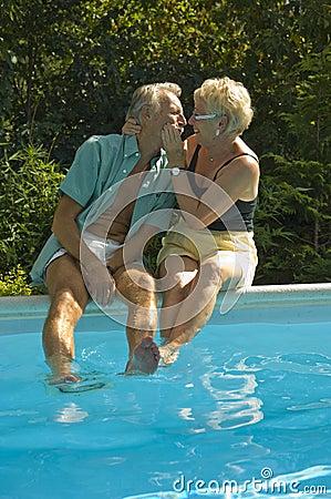Free Happy Elderly Couple Royalty Free Stock Photos - 10845028