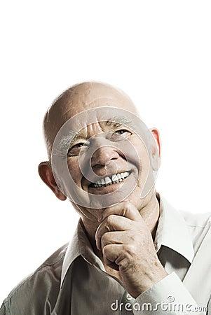 Free Happy Elderly Man Royalty Free Stock Photo - 4754335