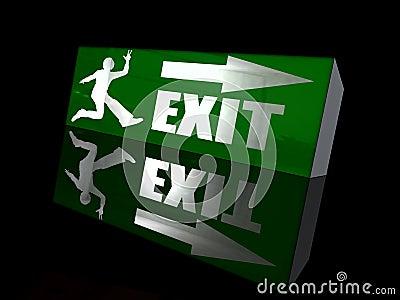 Happy exit