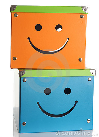 Happy face boxes