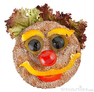Free Happy Face Made Of Vegetables Royalty Free Stock Photo - 2328725
