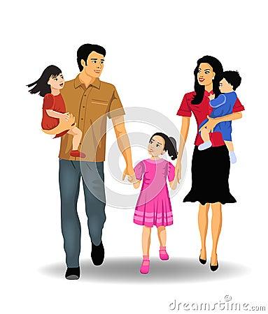 Free Happy Family Royalty Free Stock Photography - 32487327