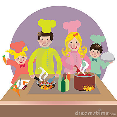 http://thumbs.dreamstime.com/x/happy-family-cooking-9683875.jpg