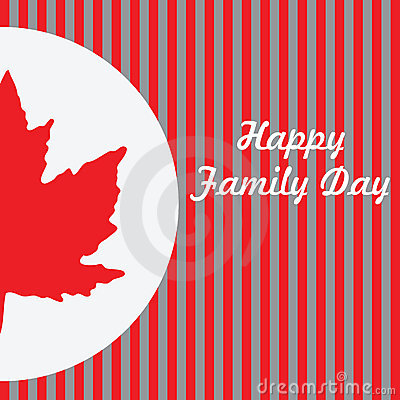 Happy Family Day - Canada