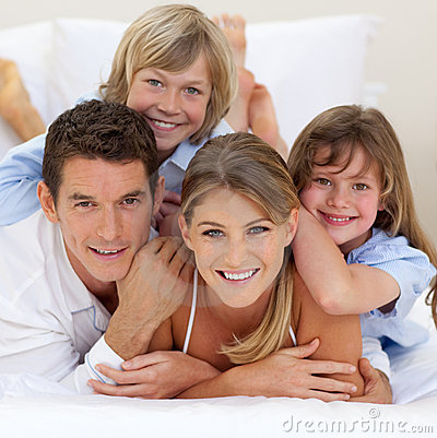 Free Happy Family Having Fun Together Royalty Free Stock Images - 12642099
