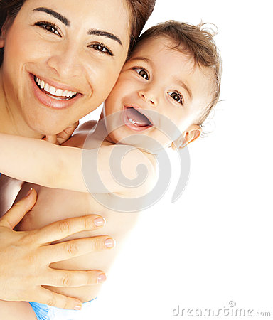 Free Happy Family Laughing Faces Royalty Free Stock Image - 28729306