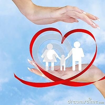 Free Happy Family.Love Royalty Free Stock Image - 37918976