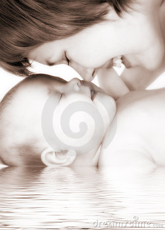 Free Happy Family Mother And Baby Stock Images - 2417824