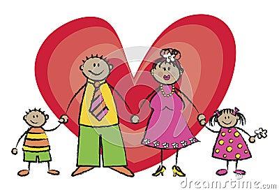 Happy Family Tan Skin Tone