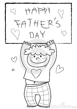 Coloring Happy Father s Day