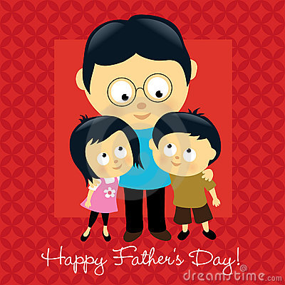 Free Happy Father S Day Asian Stock Photo - 14034970
