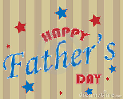 Happy Father s day text background - vector