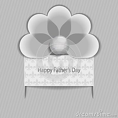 Happy Father striped