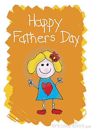 Happy Fathers Day - Girl