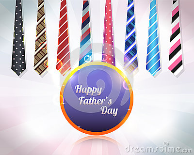 Happy Fathers Day Vector Design