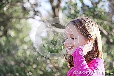 Happy female child