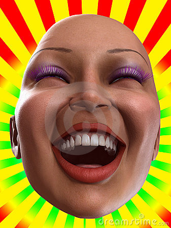 Happy Female Face