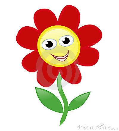 happy flower stock images image 13055254