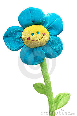 Free Happy Flower Toy Royalty Free Stock Image - 22770556
