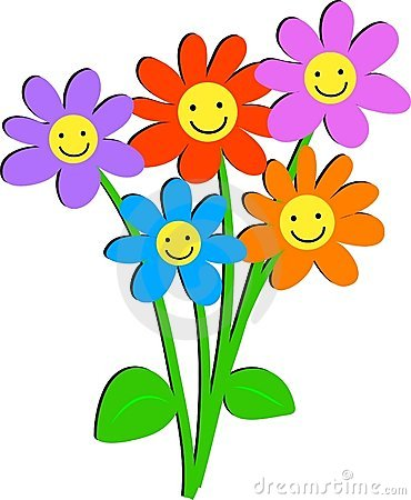 Free Happy Flowers Royalty Free Stock Photos - 46648