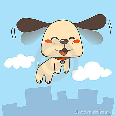 Happy Flying Dog