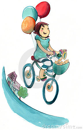 http://thumbs.dreamstime.com/x/happy-girl-cycling-15355554.jpg