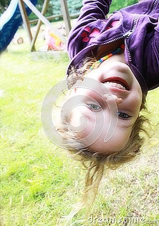 Free Happy Girl In Playground Stock Photos - 10690593