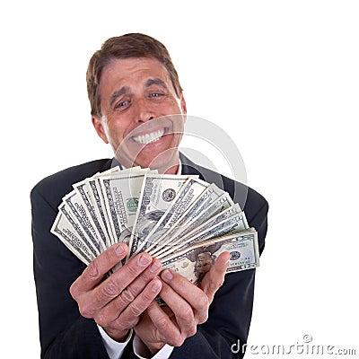 Happy Greedy Man