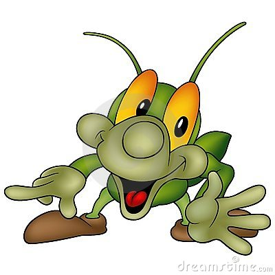 Free Happy Green Bug Stock Images - 1964754