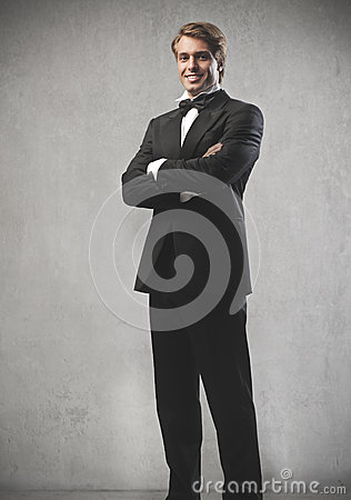 Happy Groom Stock Image - Image: 25974541