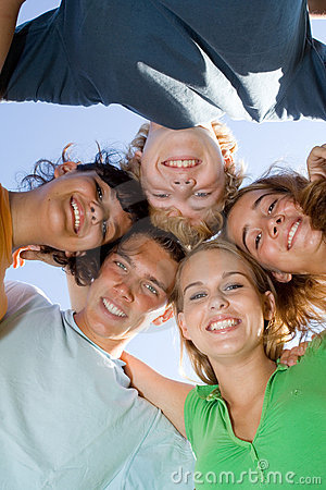 Free Happy Group Teens Stock Images - 5971614